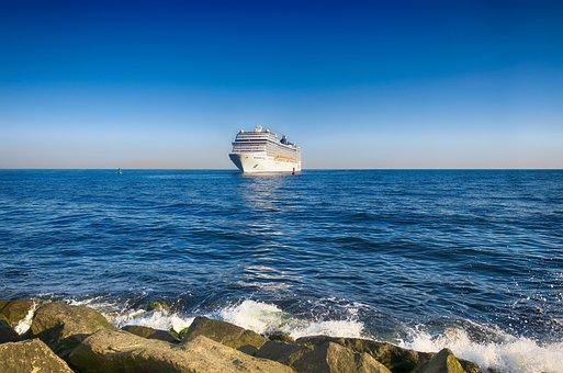 Ship, Cruises, Cruise Ship, Holiday, Ship Travel, Sea