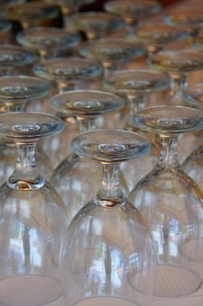 Glass, Glasses, Crystal, Glass Glass, Empty Glass