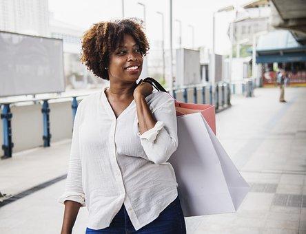 African, American, Bangkok, Buying, City, Customer