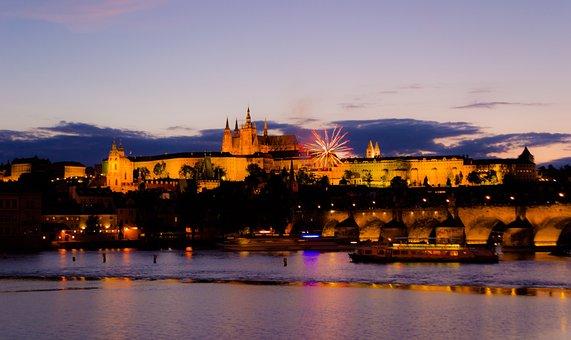Prague, Trip, Castle, Bridge, Czech Republic, Tourism