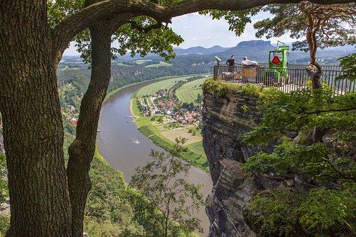 Saxon Switzerland, Elbe Sandstone Mountains, Rock