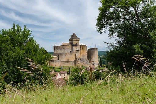 Castle, France, Périgord, Castelnaud-la-chapelle