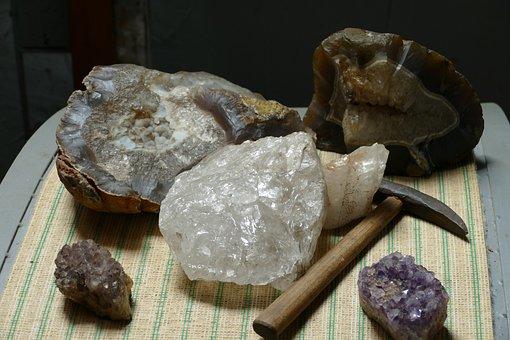 Gemstone, Stone, Mining, My, Mineral, Natural Stone