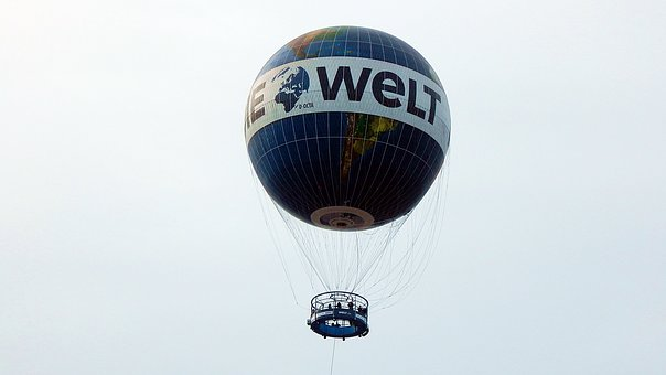Hot Air Balloon, Hotels In Berlin, Great, Germany