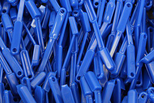 Plastic, Industry, Production, Building Blocks, Brushes