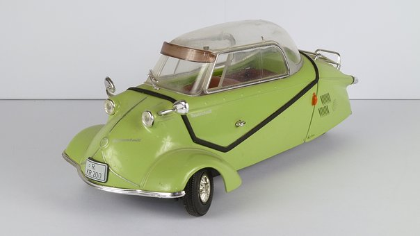 Messerschmitt, Kr200, 1956, Kr 200, 1x18, Model Car
