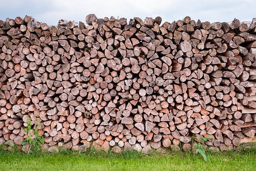Pile Of Wood, Wood, Log, Tree Trunks, Firewood