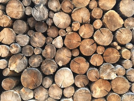 Wood, Logs, Stack, Wooden, Lumber, Cut, Texture