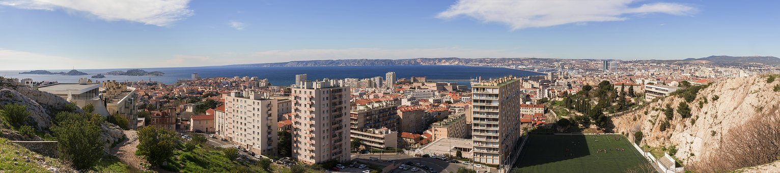 Marseille, City, Mediterranean, France, Provence