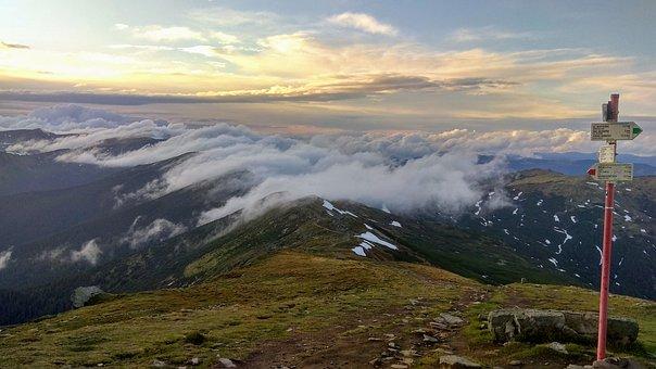 Mountains, Black Mountain, Montenegrin Mountains