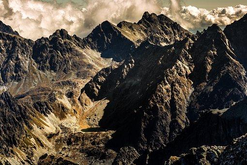 Tatra Mountains, Mountains, Tatra, The High Tatras
