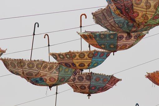 Umbrella, Traditional, Culture, Nature, Fabric