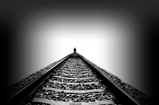 Infinity, Ray, Perspective, Railway, The Forgotten