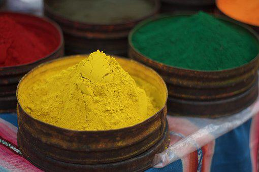 Color, Yellow, Dust, Pigment, Dye, Natural Dyes