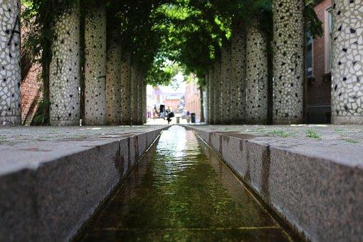 Green, Water, City, Beautiful, Denmark, Plant, Natural