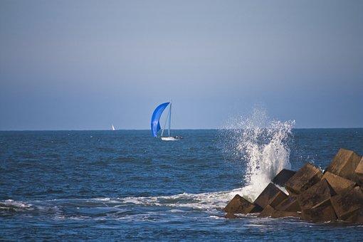 Sea, Boat, Sailboat, Port, Browse, Landscape