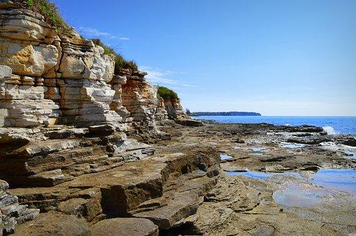 The Coast, Rocks, Rocks Stones, Sea, Water, Landscape