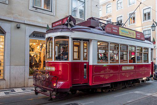 Portugal, Tram, Classic, Rustic, Tourism, Transport