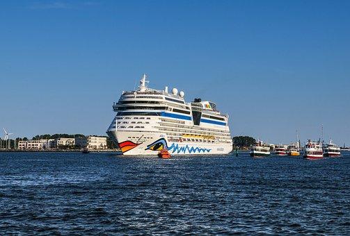 Ship, Cruises, Cruise Ship, Water, Lake, Holiday, Sea