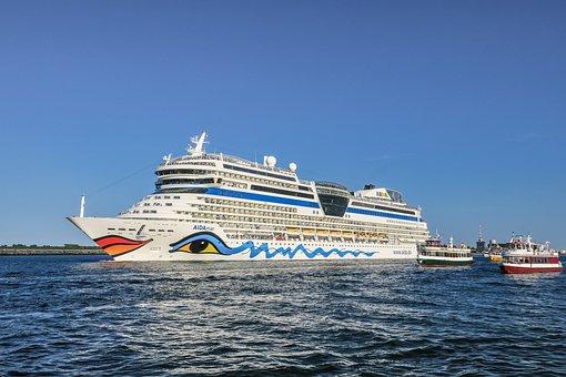 Ship, Cruises, Cruise Ship, Water, Lake, Vacations, Sea