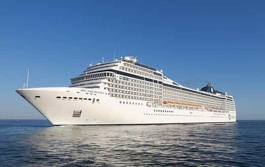 Ship, Cruises, Cruise Ship, Seafaring, Ship Travel, Sea