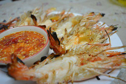Shrimp, River Prawn, Even Water Shrimp, Foodstuff, Food