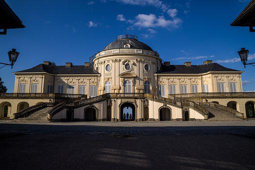Castle, Solitude, Stuttgart, Building, Old