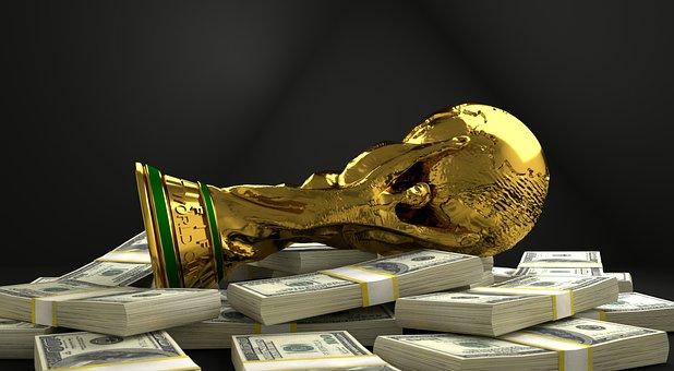 Trophy, World Cup, Championship, Sport, Bribe, Money