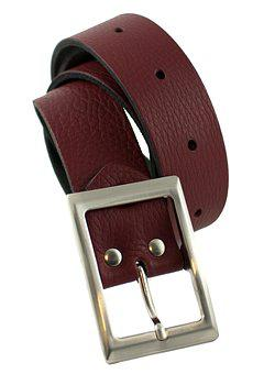 Bar, Waist Belt For Women, Strap Leather Strap, Red