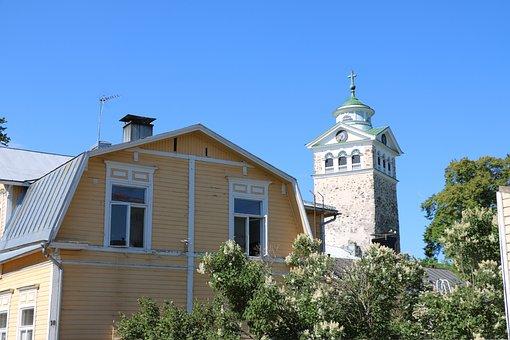 Finnish, Oak Island, Church, The Old House, Summer