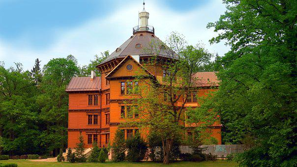 The Hunting Palace, Princes Radziwill, Wooden, Europe