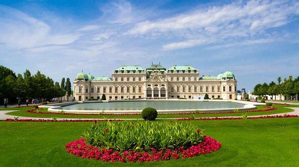Vienna, Tourism, Garden, Monument, Palace, Austria