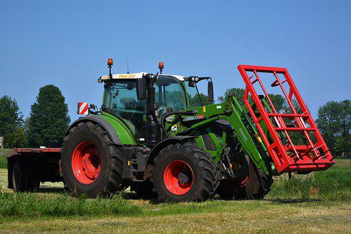 Contract Work, Landscape, Tractor, Tractors