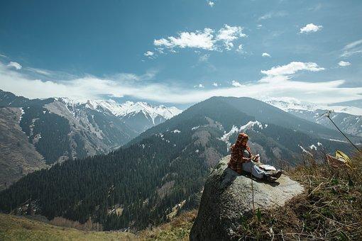Visitalmaty, Almaty, Canyon, Kazakhstan, Mountains