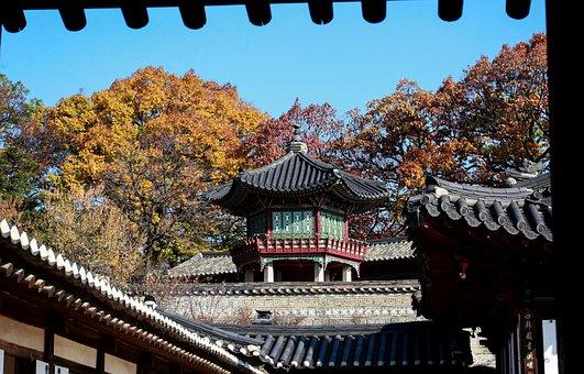 Window View, Forbidden City, Republic Of Korea