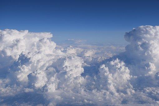 Clouds, Flight, Air Travel, Sky, Air, Fly, Atmosphere