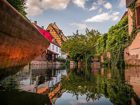 Colmar, France, Historically, Truss, Alsace, Old Town