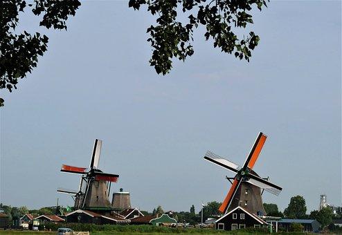 Netherlands, Windmills, Amsterdam