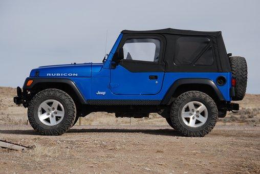 Jeep, Blue, Travel, Tourism, Car, Auto, Vehicle