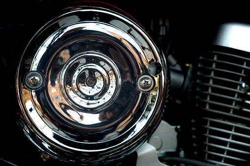 Moto, Engine, Highlights, Chrome, Biker, Adrenaline
