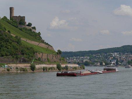 Bingen, Rhine, Rhine Cruises, Castle, Ehrenfels