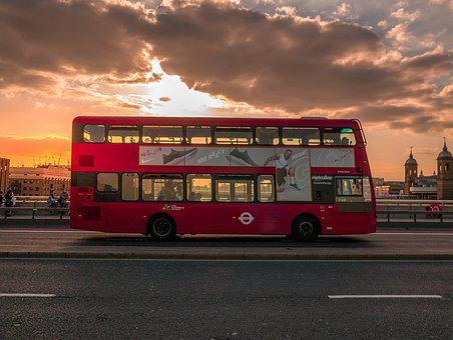 London, Bus, City, England, Traffic, Double Decker