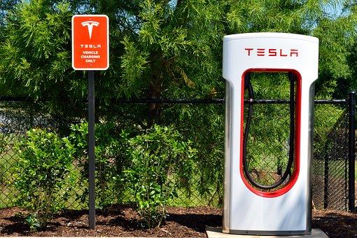 Electirc Car, Hybrid, Charging Center, Charging Area