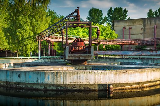 Industrial, Area, Construction, Industry, Old
