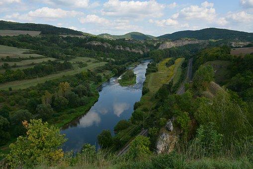 Nature, River, Summer, Czech Republic