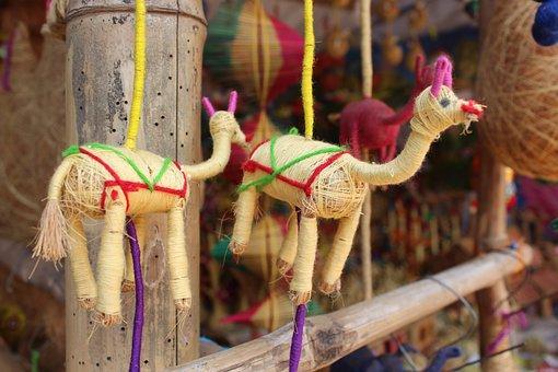Deer, Konark, Puri, Orissa, Temple, Travel, Wheel