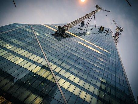 London, Skyscraper, Facade, Architecture, Building