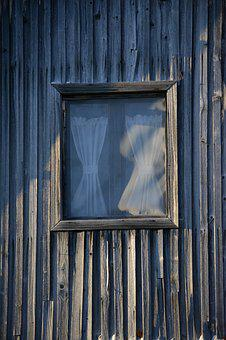 Window, Wall, Cottage, Architecture, Frame, Drape