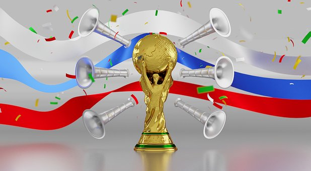 Trophy, Russia, Soccer, Football, Game, Tournament