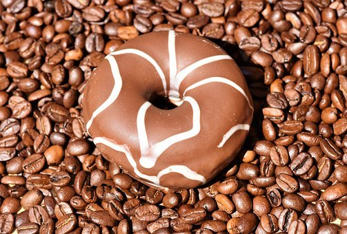 Donut, American Doughnuts, Pastries, Glaze, Sweet Dish